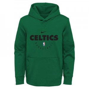 Boston Celtics Nike Elite Practise Spotlight Fleece Hoodie - Youth