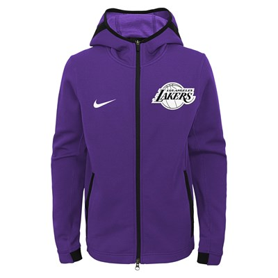 Los Angeles Lakers Los Angeles Lakers Nike Thermaflex Showtime Jacket - Youth