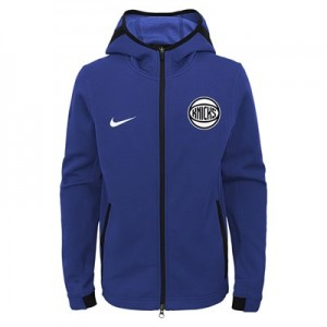 New York Knicks New York Knicks Nike Thermaflex Showtime Jacket - Youth