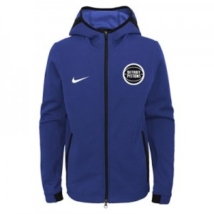 Detroit Pistons Detroit Pistons Nike Thermaflex Showtime Jacket - Youth