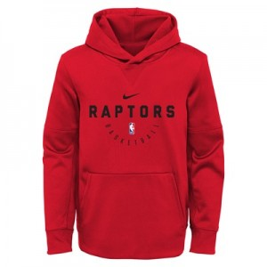 Toronto Raptors Nike Elite Practise Spotlight Fleece Hoodie - Youth