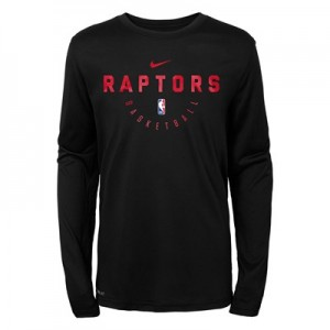 Toronto Raptors Nike Elite Practise Long Sleeve Top - Youth