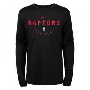 Toronto Raptors Nike Elite Practise Long Sleeve Top - Youth