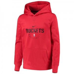 Houston Rockets Nike Elite Practise Spotlight Fleece Hoodie - Youth