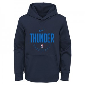 Oklahoma City Thunder Nike Elite Practise Spotlight Fleece Hoodie - Youth