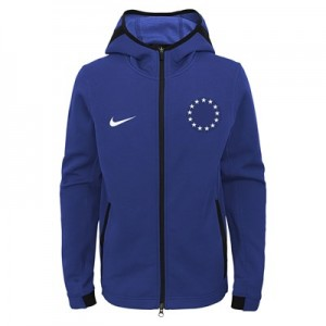 Philadelphia 76ers Philadelphia 76ers Nike Thermaflex Showtime Jacket - Youth