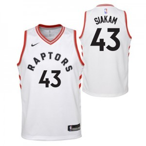 Toronto Raptors Nike Association Swingman Jersey - Pascal Siakam - Youth