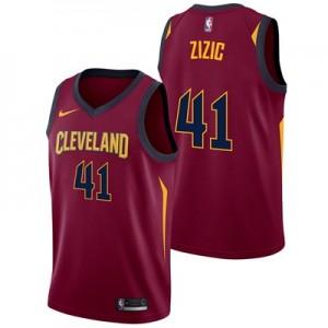 Nike Cleveland Cavaliers Nike Icon Swingman Jersey - Ante Zizic - Mens Cleveland Cavaliers Nike Icon Swingman Jersey - Ante Zizic - Mens