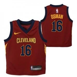 Cleveland Cavaliers Nike Icon Replica Jersey - Cedi Osman - Infant
