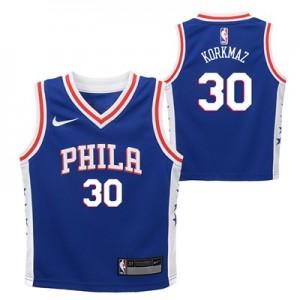 Philadelphia 76ers Nike Icon Replica Jersey - Furkan Korkmaz - Toddler