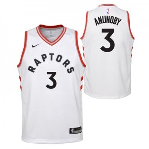 Toronto Raptors Nike Association Swingman Jersey - OG Anunoby - Youth