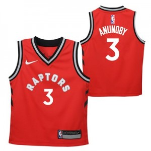 Toronto Raptors Nike Icon Replica Jersey - OG Anunoby - Toddler