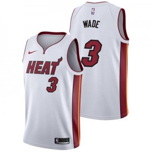 Nike Miami Heat Nike Association Swingman Jersey - Dwyane Wade - Mens Miami Heat Nike Association Swingman Jersey - Dwyane Wade - Mens