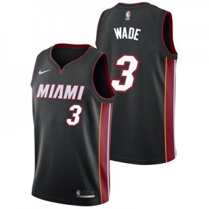 Nike Miami Heat Nike Icon Swingman Jersey - Dwyane Wade - Mens Miami Heat Nike Icon Swingman Jersey - Dwyane Wade - Mens