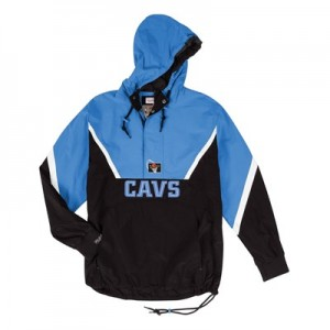 Cleveland Cavaliers Half Zip Anorak Jacket By Mitchell & Ness - Mens