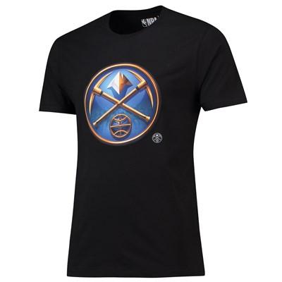 Denver Nuggets Midnight Mascot Core T-Shirt - Black - Mens