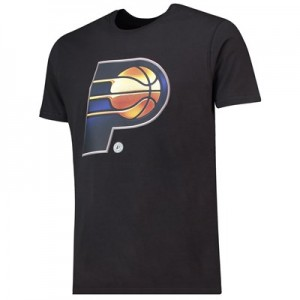 Indiana Pacers Midnight Mascot Core T-Shirt - Black - Mens