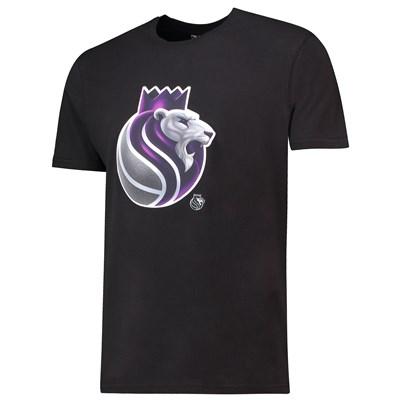 Sacramento Kings Midnight Mascot Core T-Shirt - Black - Mens