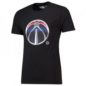 Washington Wizards Midnight Mascot Core T-Shirt - Black - Mens
