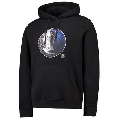 Dallas Mavericks Midnight Mascot Core Hoodie - Black - Mens