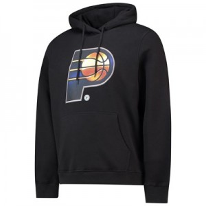 Indiana Pacers Midnight Mascot Core Hoodie - Black - Mens