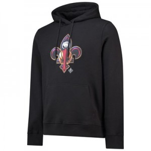 New Orleans Pelicans Midnight Mascot Core Hoodie - Black - Mens