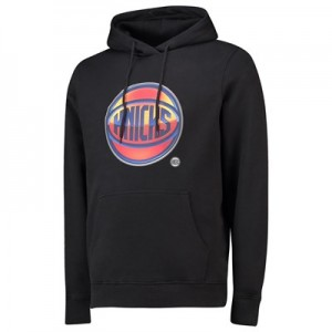 New York Knicks Midnight Mascot Core Hoodie - Black - Mens