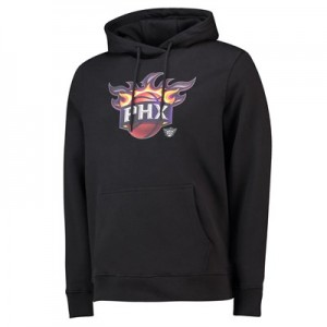 Phoenix Suns Midnight Mascot Core Hoodie - Black - Mens