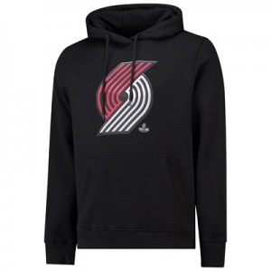 Portland Trail Blazers Midnight Mascot Core Hoodie - Black - Mens