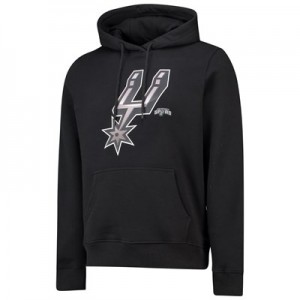 San Antonio Spurs Midnight Mascot Core Hoodie - Black - Mens