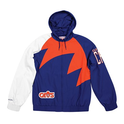 Cleveland Cavaliers Sharktooth Jacket By Mitchell & Ness - Mens