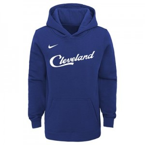Cleveland Cavaliers Nike City Edition Essential Logo Hoodie - Youth