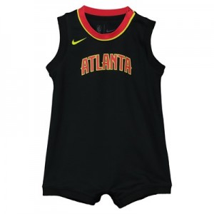 Nike Atlanta Hawks Nike Icon Replica Onesie Jersey - Custom - Infant Atlanta Hawks Nike Icon Replica Onesie Jersey - Custom - Infant
