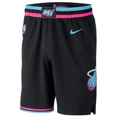Miami Heat Nike City Edition Swingman Short - Youth