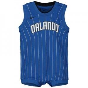 Nike Orlando Magic Nike Icon Replica Onesie Jersey - Custom - Infant Orlando Magic Nike Icon Replica Onesie Jersey - Custom - Infant