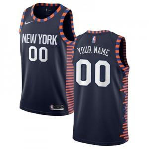 Nike New York Knicks Nike City Edition Swingman Jersey - Custom - Youth New York Knicks Nike City Edition Swingman Jersey - Custom - Youth