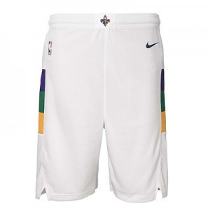 New Orleans Pelicans Nike City Edition Swingman Short - Youth