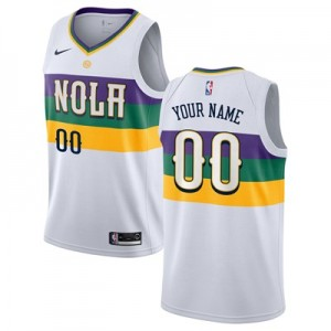 Nike New Orleans Pelicans Nike City Edition Swingman Jersey - Custom - Youth New Orleans Pelicans Nike City Edition Swingman Jersey - Custom - Youth