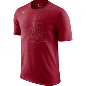 Houston Rockets Nike City Edition Logo T-Shirt - Youth