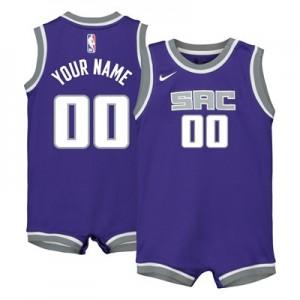 Nike Sacramento Kings Nike Icon Replica Onesie Jersey - Custom - Infant Sacramento Kings Nike Icon Replica Onesie Jersey - Custom - Infant