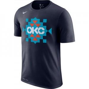 Oklahoma City Thunder Nike City Edition Logo T-Shirt - Youth