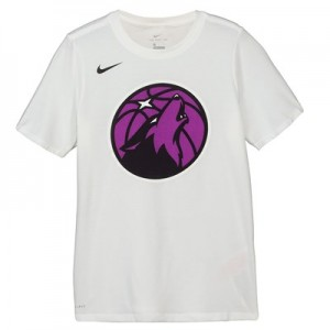 Minnesota Timberwolves Nike City Edition Logo T-Shirt - Youth