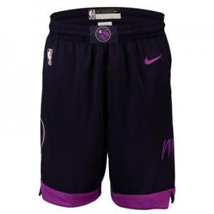 Minnesota Timberwolves Nike City Edition Swingman Short - Youth