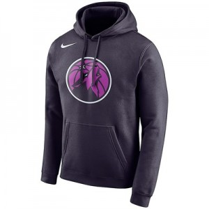 Minnesota Timberwolves Nike City Edition Essential Logo Hoodie - Youth