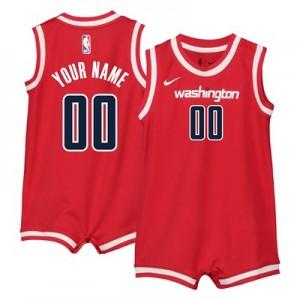 Nike Washington Wizards Nike Icon Replica Onesie Jersey - Custom - Infant Washington Wizards Nike Icon Replica Onesie Jersey - Custom - Infant