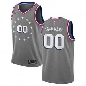 Nike Philadelphia 76ers Nike City Edition Swingman Jersey - Custom - Youth Philadelphia 76ers Nike City Edition Swingman Jersey - Custom - Youth