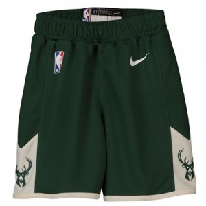 Milwaukee Bucks Nike Icon Replica Short - Toddler