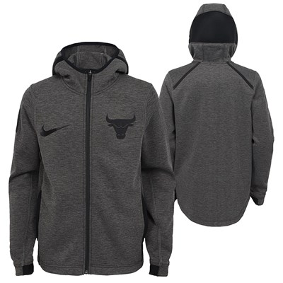 Chicago Bulls Nike Showtime Therma Flex Hoodie - Youth