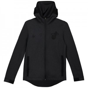 Miami Heat Nike Showtime Therma Flex Hoodie - Youth