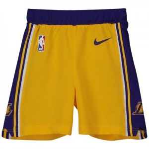 Los Angeles Lakers Nike Icon Replica Short - Toddler